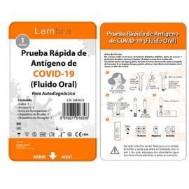 TEST FLUIDO ORAL ANTIGENOS AUTODIAGNOSTICO SARS-COV-2 ALLTEST (LAMBRA) 1 TEST